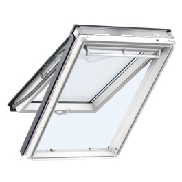 Velux Top Hung Window - White - 550mm x 980mm - (GPU-CK04-0070)