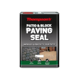 Thompsons Patio & Block Paving Seal 5Lt - One Coat