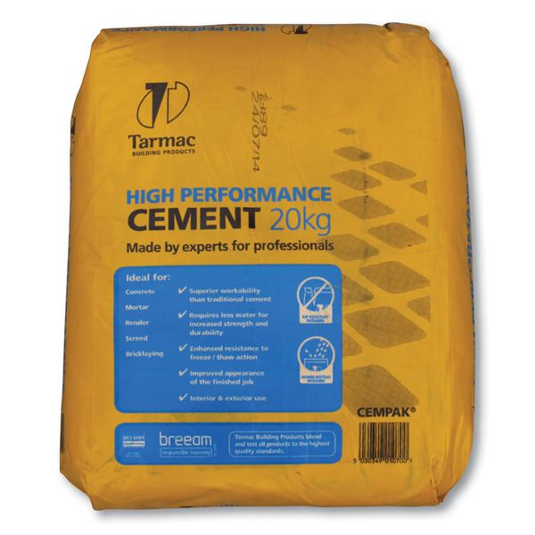Cement 20Kg - Waterproof Bag