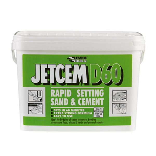 Jetcem Rapid Set Sand & Cement 20Kg - (D60)