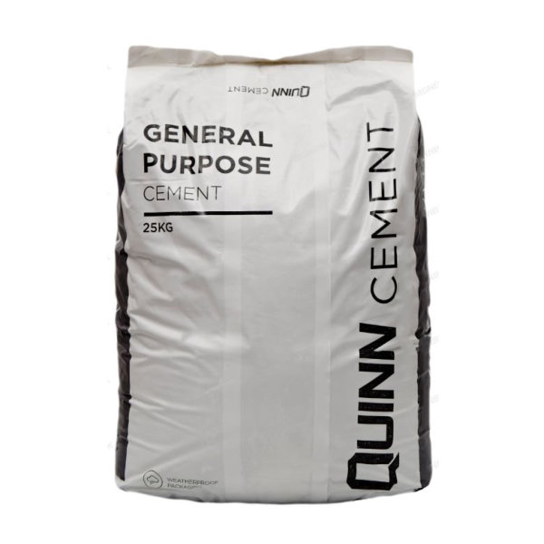 Quinn Cement 25Kg - Waterproof Bag