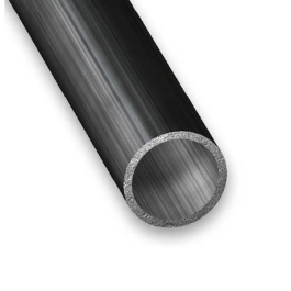CQFD Steel Round Tube - 1Mt x 12mm x 1mm