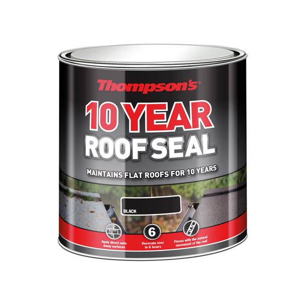 Thompsons 10 Year Roof Seal 2.5Lt - Black