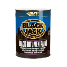 Everbuild 901 - Black Jack Bitumen Paint 1Lt