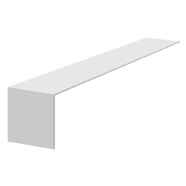 PVC Reveal Cover Joint 300mm - White