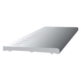 PVC Vented Flat Board 5Mt x 150mm
