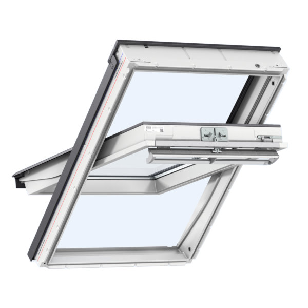 Velux Centre Pivot Window - White - 550mm x 1180mm - (GGU-CK06-0070)