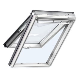 Velux Top Hung Window - White - 550mm x 980mm - (GPL-CK04-2070)