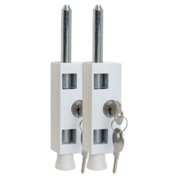 Sterling Patio Door Bolt - White - (Pack of 2)