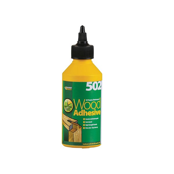 Everbuild 502 - Wood Adhesive 1Lt