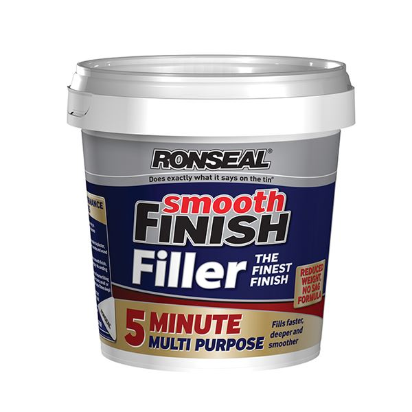 Ronseal Smooth Finish Filler - 5 Minute Multi-Purpose 290ml