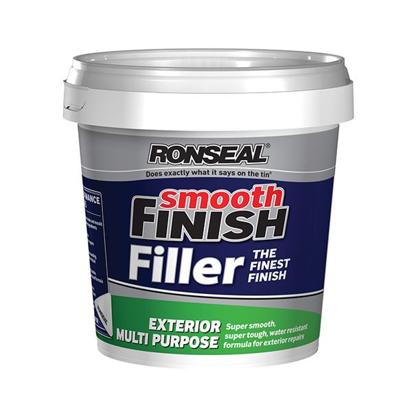 Ronseal Smooth Finish Filler - Exterior Ready Mix 1.2Kg