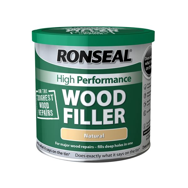 Ronseal High Performance Wood Filler 550g - Natural