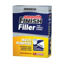 Ronseal Smooth Finish Filler - Multi-Purpose Powder 2Kg