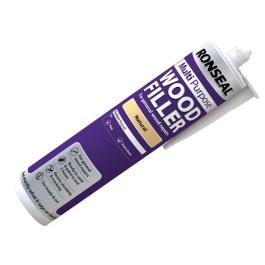 Ronseal Multi-Purpose Wood Filler Tube 310ml - White