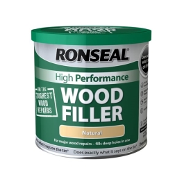 Ronseal High Performance Wood Filler 1Kg - White