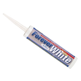 Everbuild Forever White Silicone Sealant