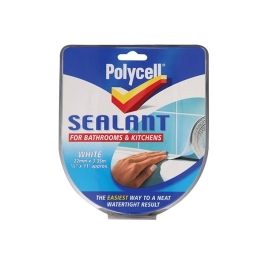 Polycell Bath & Kitchen Sealant Strip - All Purpose