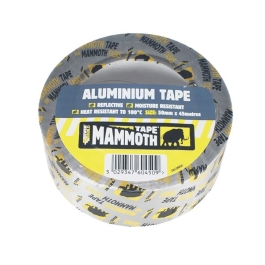 Everbuild Aluminium Tape - 45Mt x 50mm