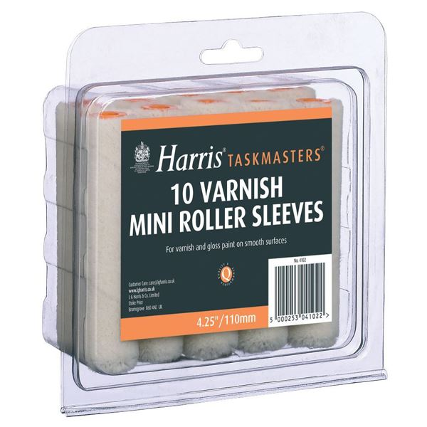 Harris Mini Varnish Sleeve - 10Pc Set - (4102)