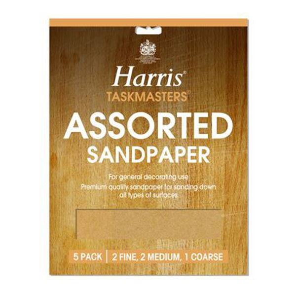 Harris Sandpaper Pack (4) - Assorted - (330)