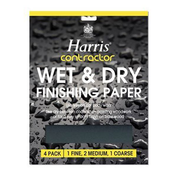 Harris Sandpaper Pack (5) - Wet & Dry - (332)