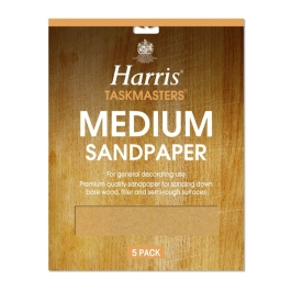 Harris Sandpaper Pack (4) - Medium - (328)