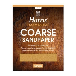 Harris Sandpaper Pack (4) - Coarse - (329)
