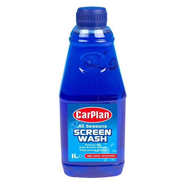 Car Plan Screen Wash 1Lt - Concentrated
