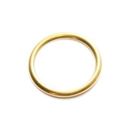 Curtain Rings 25mm - Brass - (Pack of 7) - (001498N)