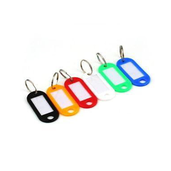 Select Hardware Key Tags - Assorted Colours (4)