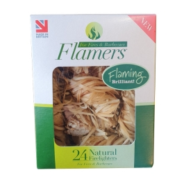 Flamers Firelighters - (Pack of 24)