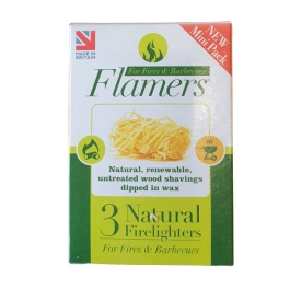 Flamers Firelighters - Mini - (Pack of 3)