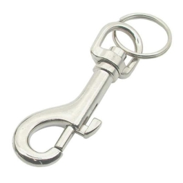 Key Ring - Hipster - Nickel Plated - (024534N)