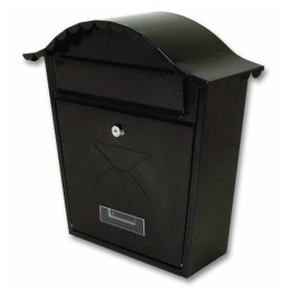 Sterling Post Box - Classic - Black