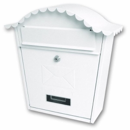 Sterling Post Box - Classic - White