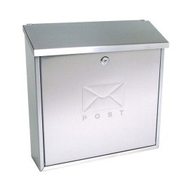 Sterling Post Box - Contemporary - White