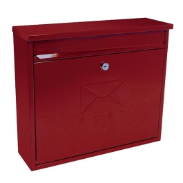 Sterling Post Box - Elegance - Red