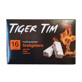 Tiger Tim Firelighters - (Pack of 16)