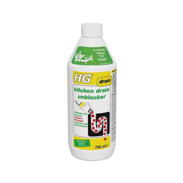 HG Kitchen Enzyme Drain Unblocker 1Lt