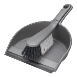 Addis Dustpan & Brush Set - (Black)