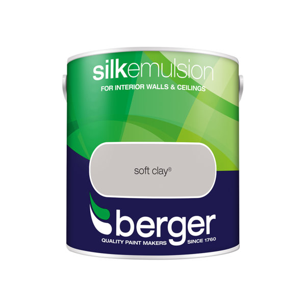 Berger Silk Emulsion 2.5Lt - Soft Clay