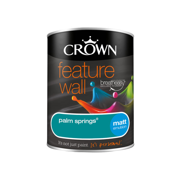 Crown Feature Wall Emulsion 1.25Lt - Palm Springs