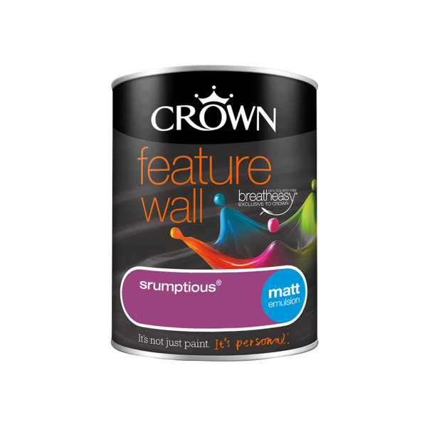 Crown Feature Wall Emulsion 1.25Lt - Scrumptious