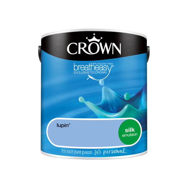 Crown Silk Emulsion 2.5Lt - Blues - Lupin