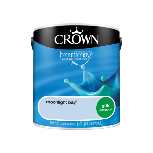 Crown Silk Emulsion 2.5Lt - Blues - Moonlight Bay