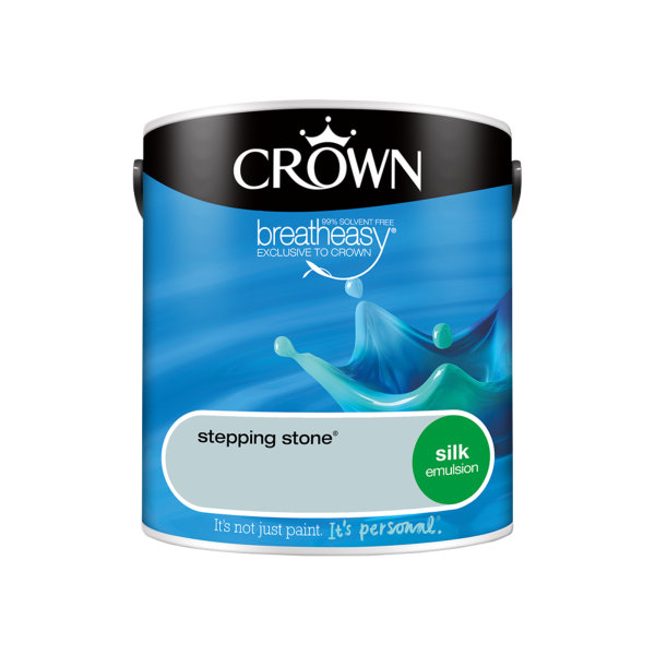 Crown Silk Emulsion 2.5Lt - Blues - Stepping Stone