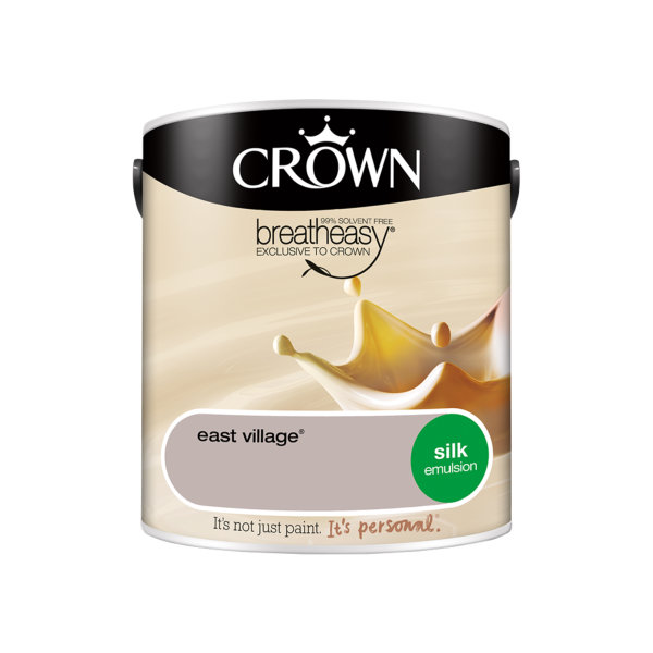 Crown Silk Emulsion 2.5Lt - Creams - East Village