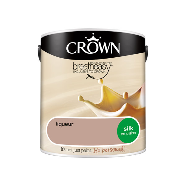 Crown Silk Emulsion 2.5Lt - Creams - Liqueur