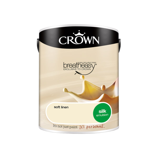 Crown Silk Emulsion 5Lt - Soft Linen